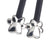 Star, Paw & Facet - Silver Set of 3