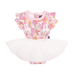 Rock Your Baby - Retro Unicorn - Short Sleeve Circus Dress