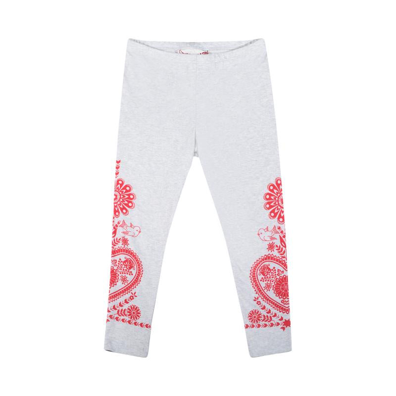 Paper Wings Classic Legging - Embroidered Print