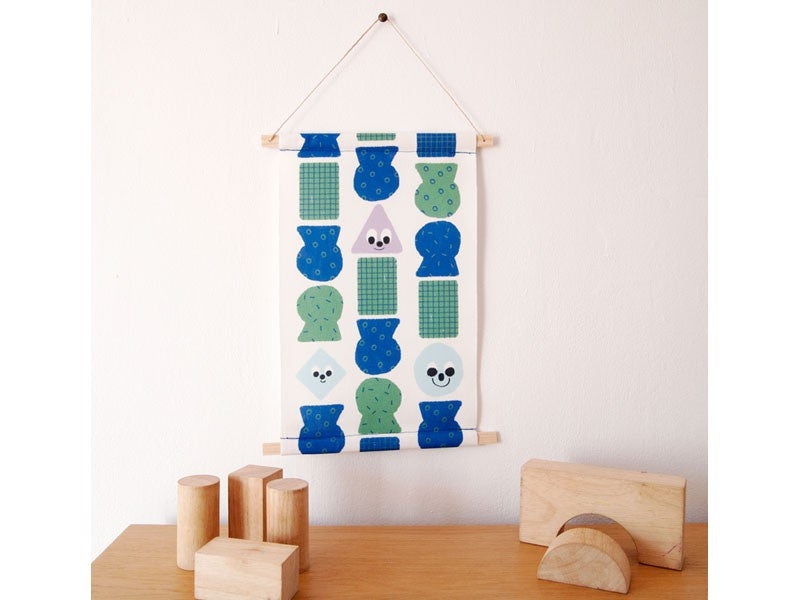 Guimo Wall Hanging - Pottery Banner