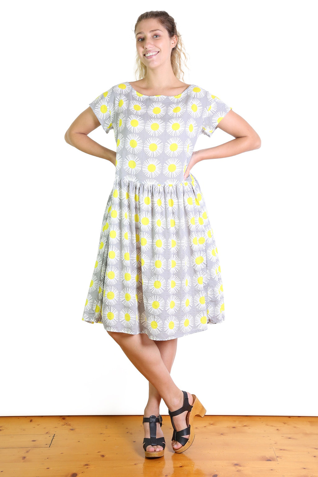 DAISY LOU Seer Dropwaist Dress