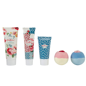 CATH KIDSTON COTTAGE PATCHWORK PAMPER TIN GIFT SET