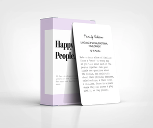 Happy Little People Card Deck: The Second Year