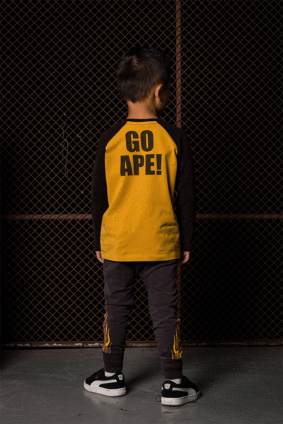 Rock Your Baby - Go Ape - Long Sleeve T-Shirt