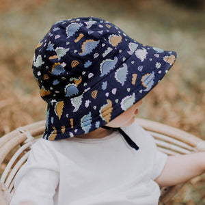 Toddler Bucket Hat 'Stegosaurus' Print