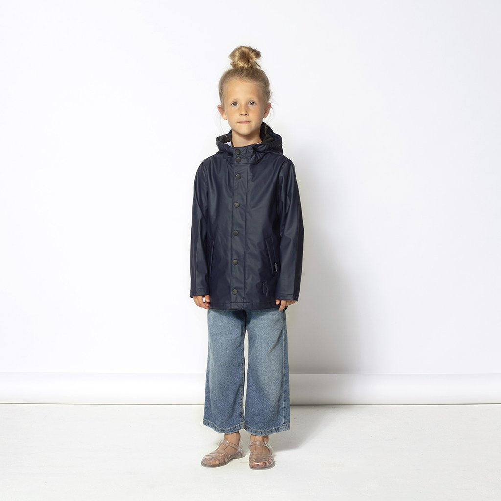 GOSOAKY - ELEPHANT MAN UNISEX  RAINCOAT // MOOD INDIGO