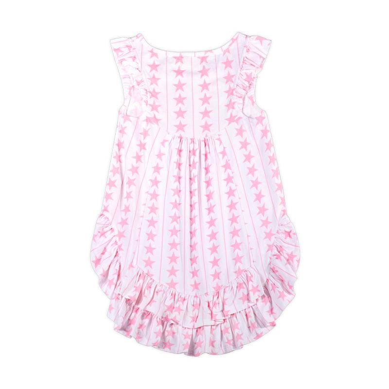 Frilled Bustle Singlet - Stars and Stripes Pink by Paper Wings