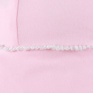 Legionnaire Hat Ruffle Trim - Blush