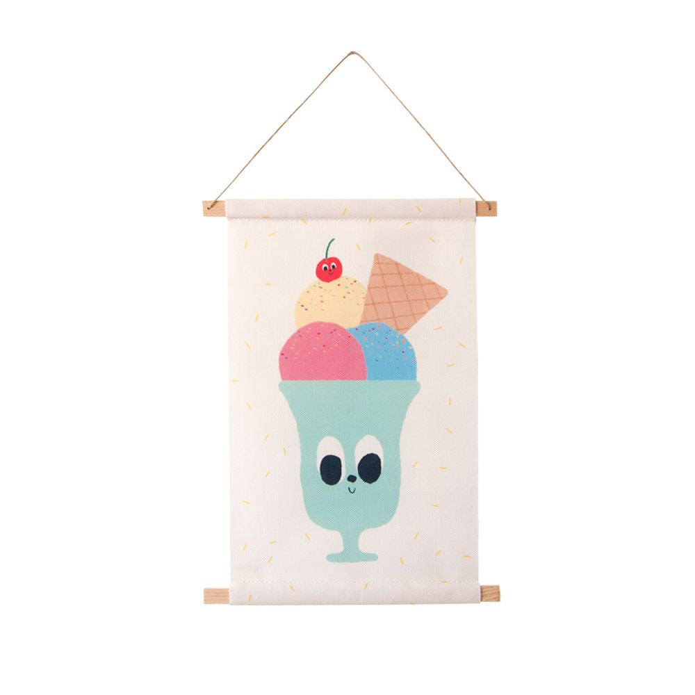 Guimo Wall Hanging - Ice-cream