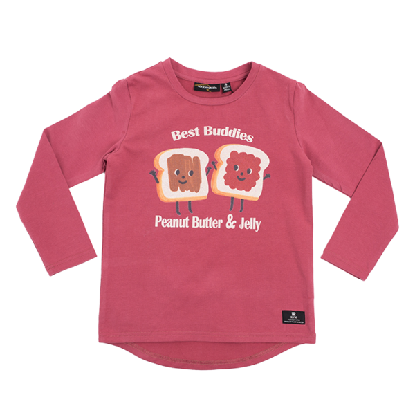 ROCK YOUR BABY - PEANUT BUTTER & JELLY T-SHIRT