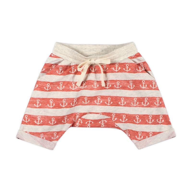 Paper Wings Cuff Trackies - Anchor Stripe