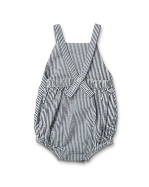 Barkley Romper - Pin Stripe - by Walnut