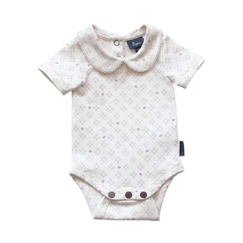 Bowhill Luxe Organic Onesie - Short Sleeve