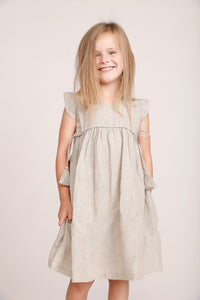 Daffodil Dress - Natural Linen