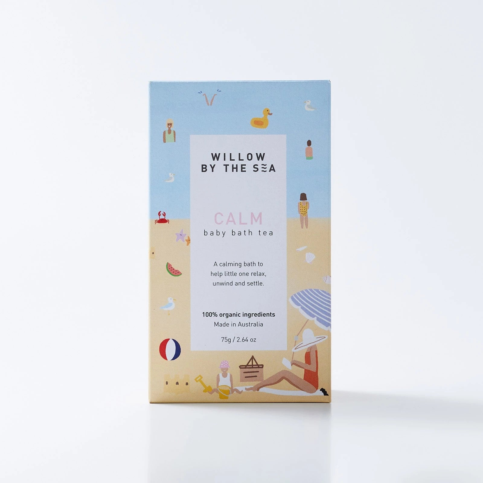 CALM BABY BATH TEA