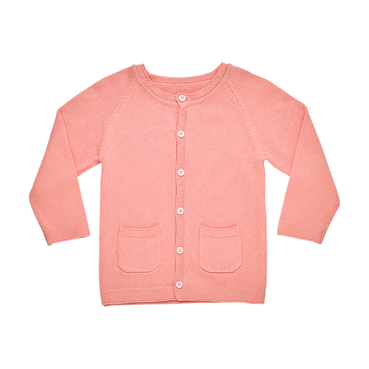 Rock Your Baby - Pink Knit Cardigan