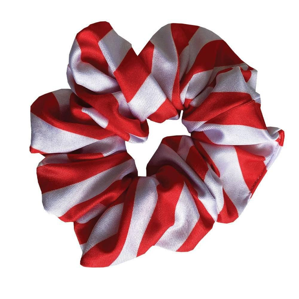 Candy Cane Scrunchies