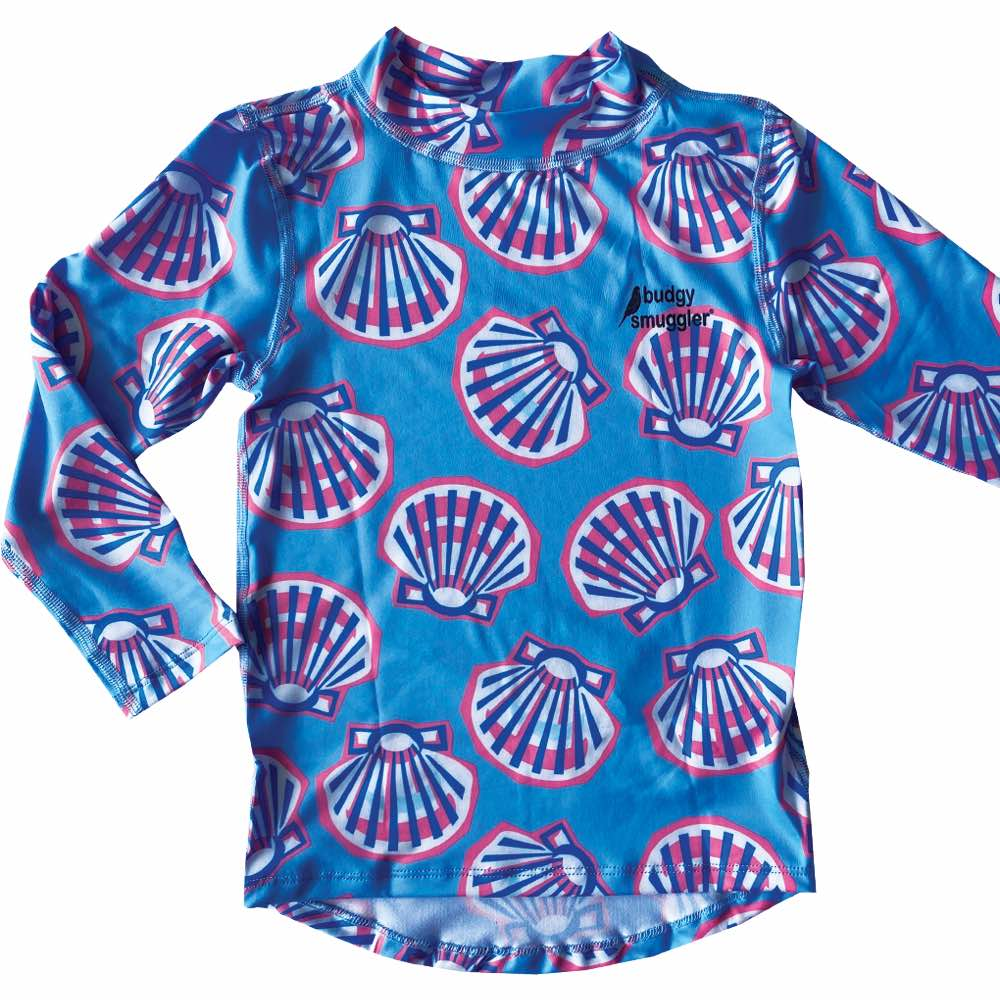 Clams Kids Long Sleeved Rash Vest