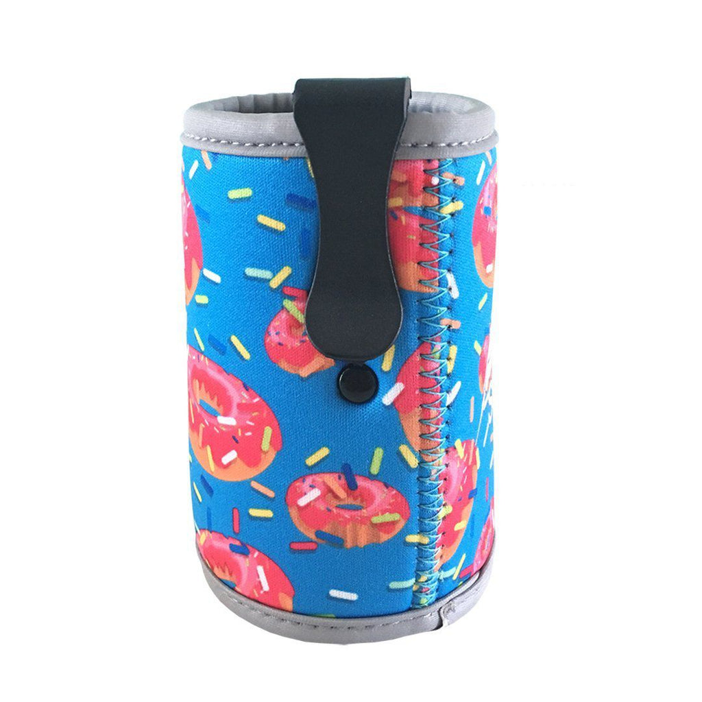 Donut Stubby Holder with Clip