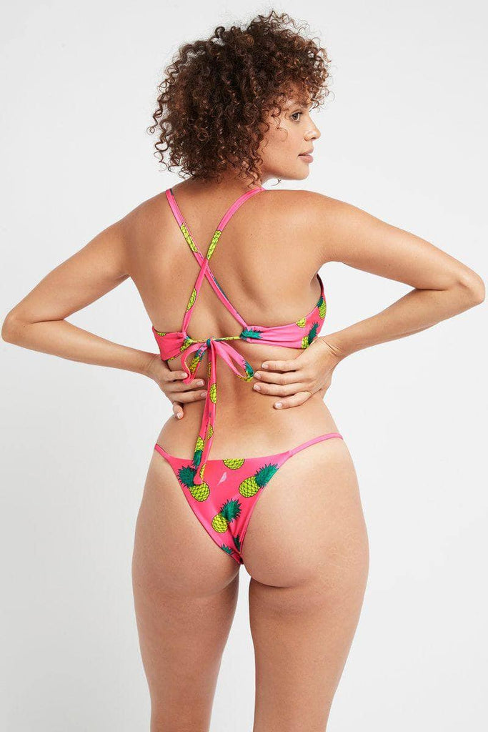 Avalon Bottoms in Pink Fineapple