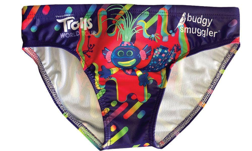 Techno Trolls Boys Swim Trunks