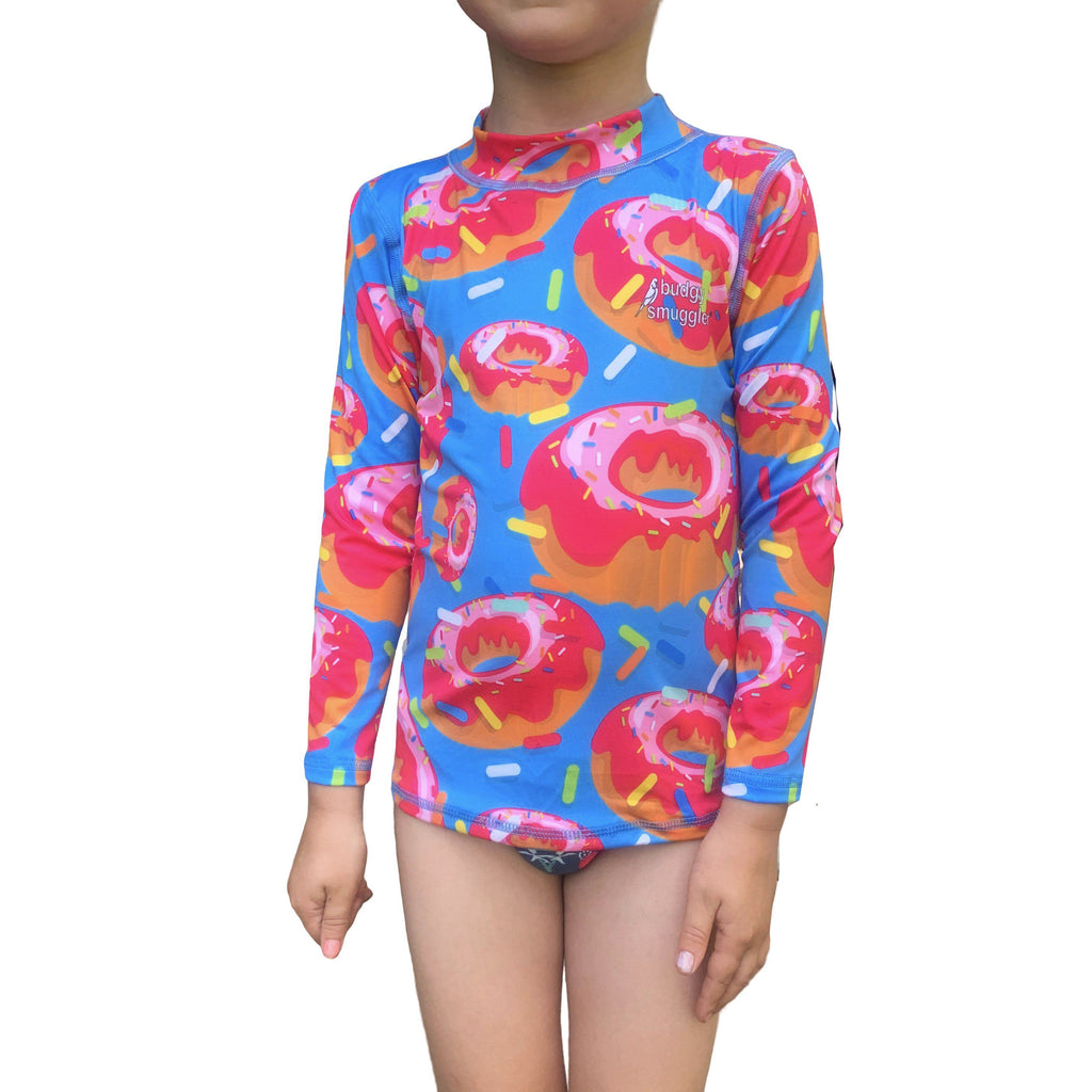 Donut Kids Long Sleeved Rash Vest