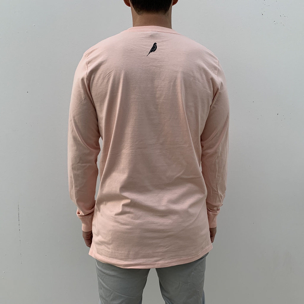 Light Pink Long Sleeves Shirts