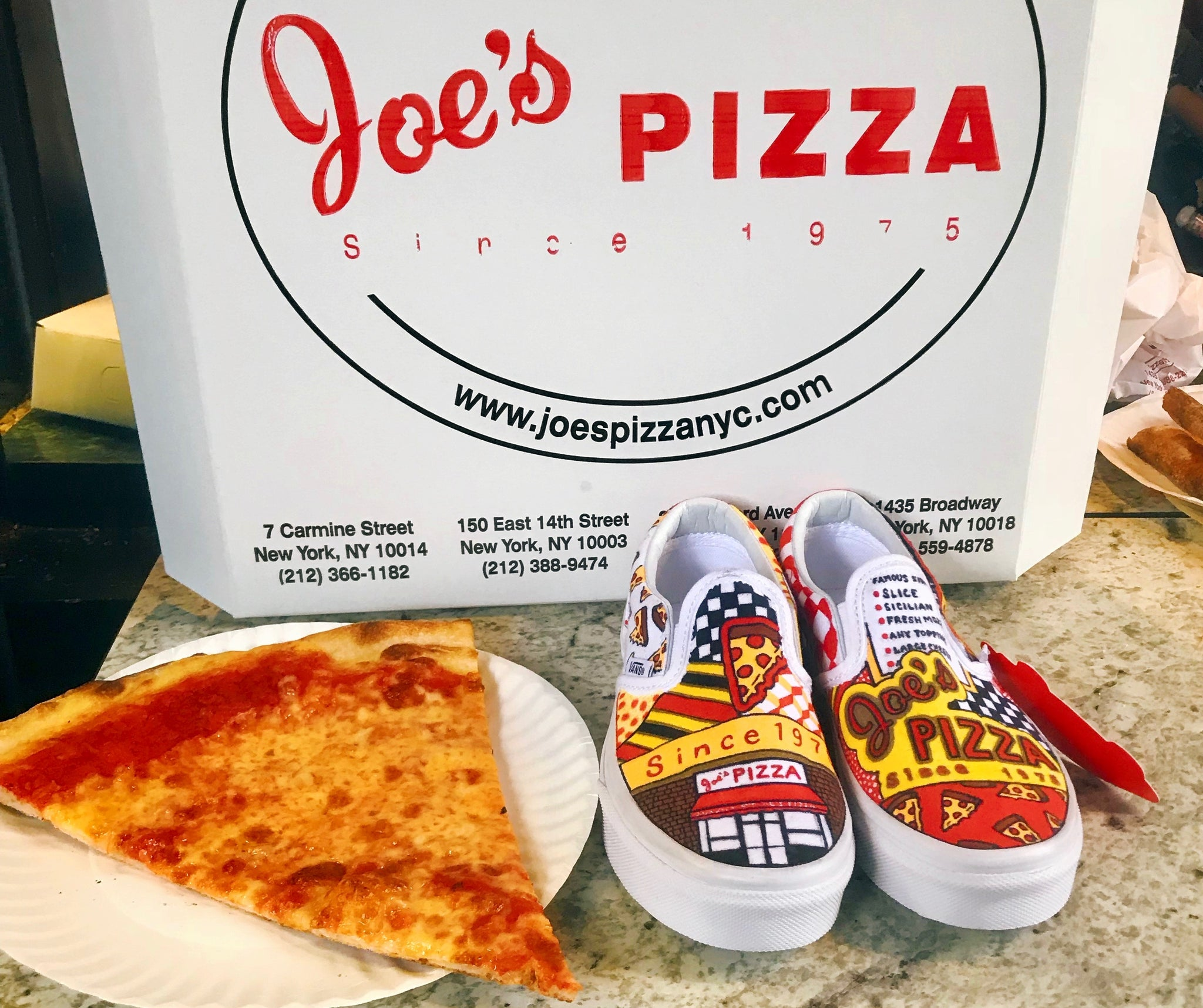Joe's Pizza Sneakers