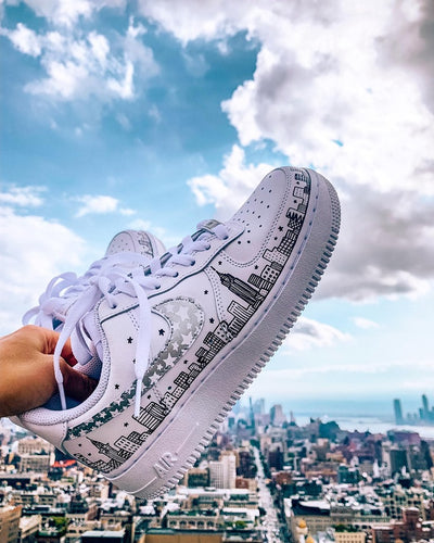 City & Stars Swoosh