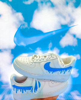 Kids Dripping Swoosh Customization