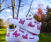 Kids Pink Butterflies