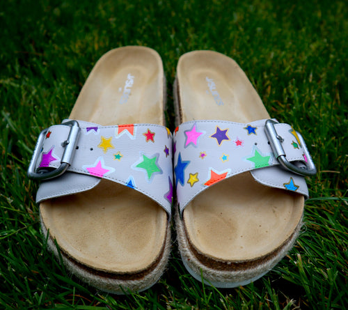 Colorful Star Sandals