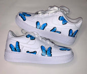 Kids Blue Butterflies