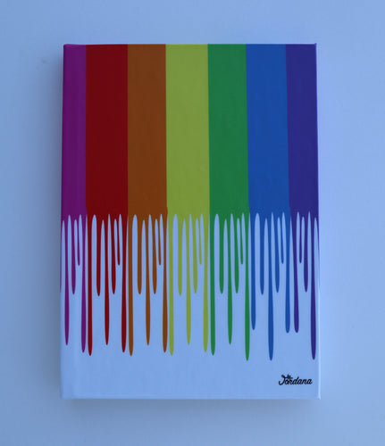 Rainbow Drip Journal