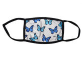 Blue Butterfly Mask