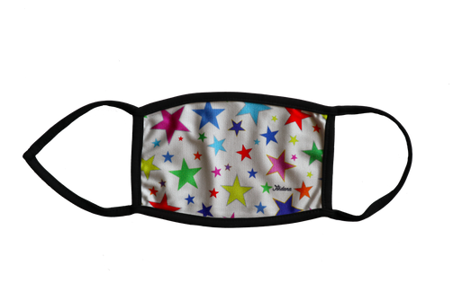 Colorful Stars Mask
