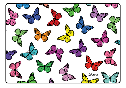 Rainbow Butterfly Laptop Skin