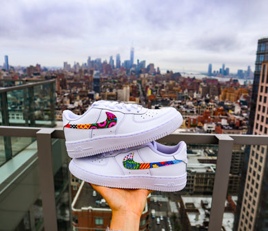 Patterned Swoosh