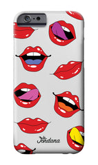 Lip Print Phone Case