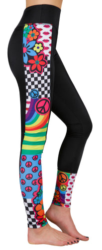 Peace and Love Leggings