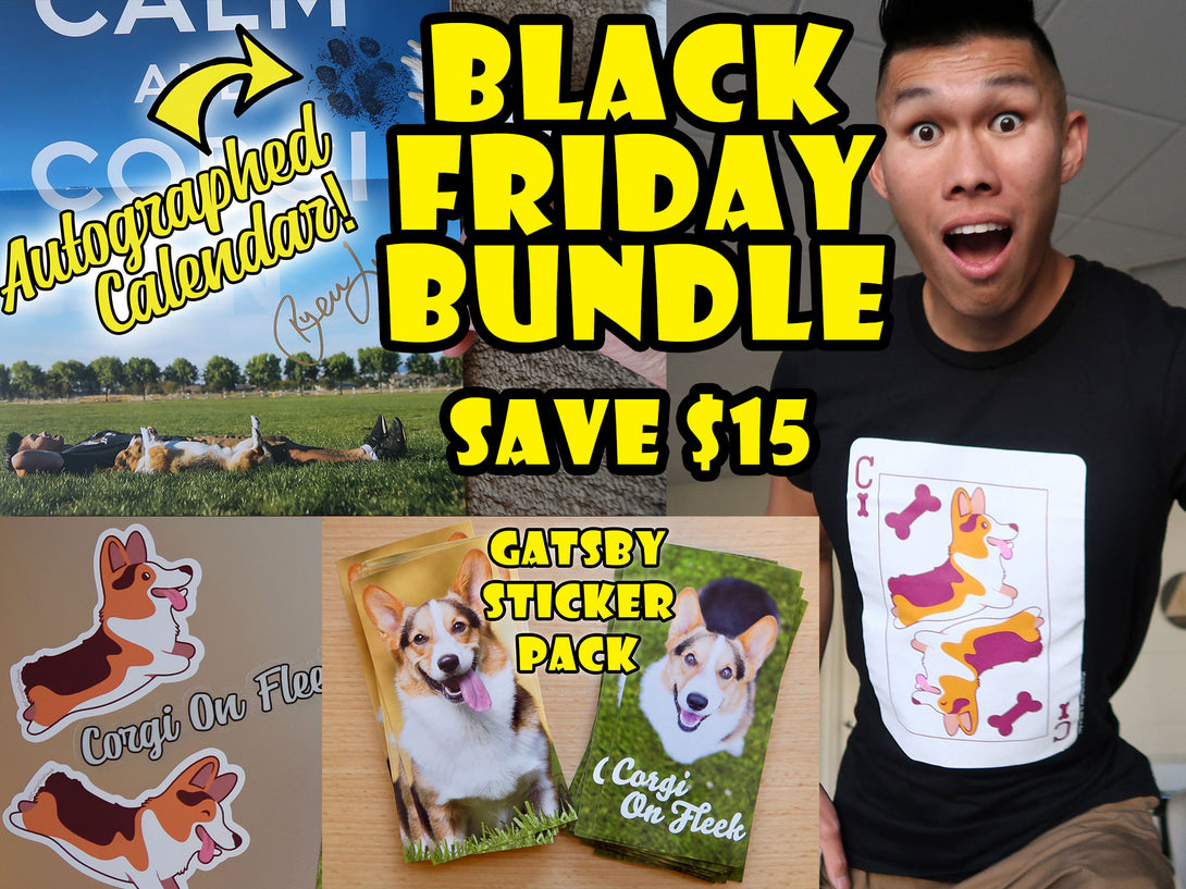 Gatsby's Black Friday Bundle [Shirt/Autographed Calendar/Stickers]