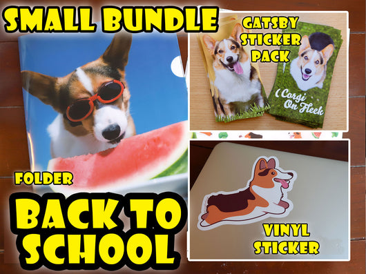 Gatsby's Back to School Bundle [Folders/Stickers]