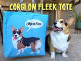 Corgi On Fleek Cloth Tote Bag