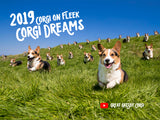 *NEW* Corgi On Fleek 2019 Calendar - Corgi Dreams