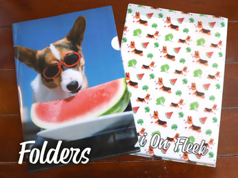 Corgi On Fleek Folder Sleeve Organizer