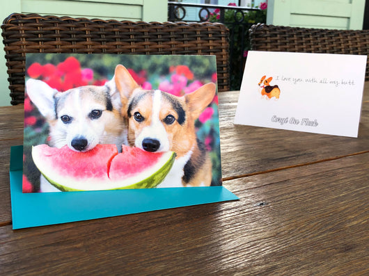 Corgi Love Greeting Card
