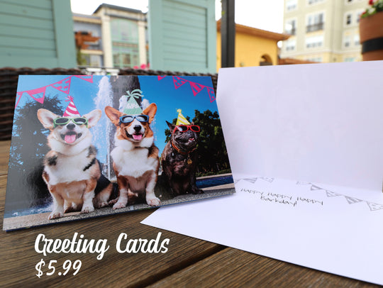 Corgi On Fleek Greeting Cards