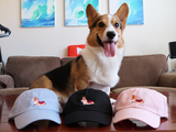 Gatsby Corgi Embroidered DAD HAT [Limited Edition]