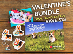 Corgi Love Valentine's Bundle -- Small