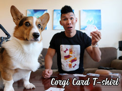 Collectible Corgi Card Premium T-shirt [Limited Edition]
